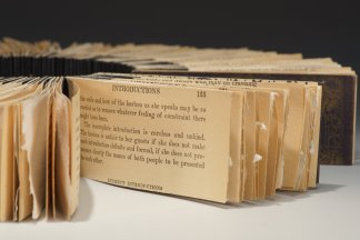 Book of Etiquette (1921-2021), detail